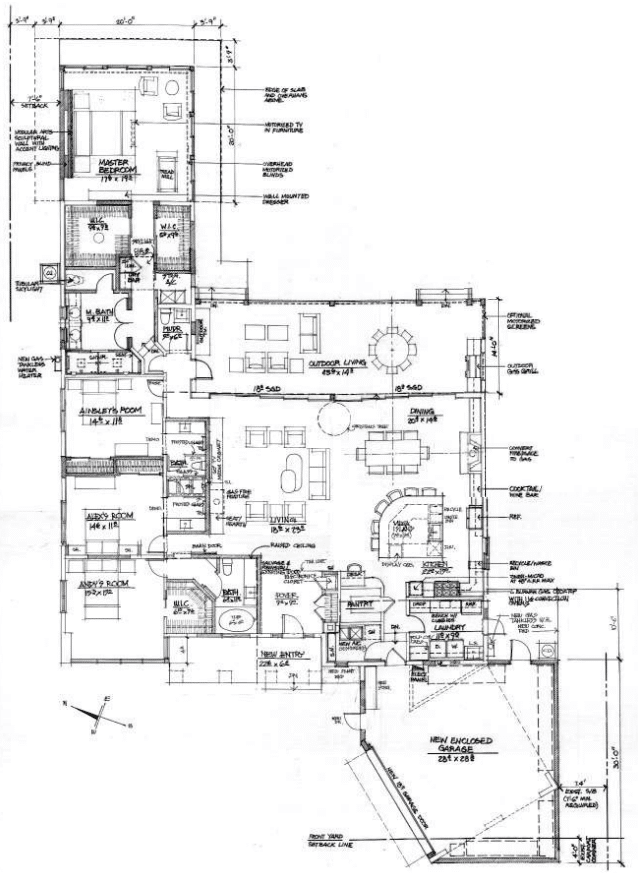 New House Plans 2014 retro-renovation: how to bring new life to an outdated floor plan