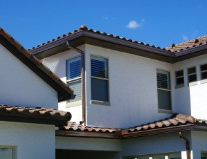 Architectural Detail and Tile Roof