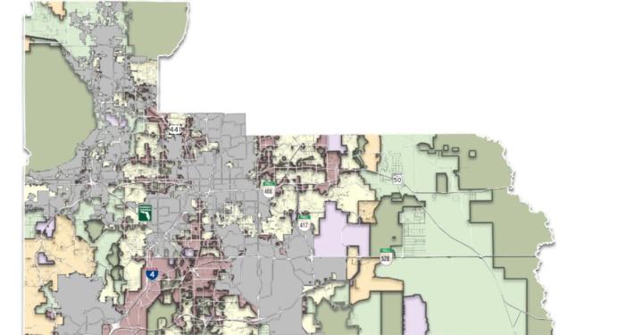 Orange County Map