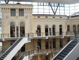 Saargallerie Renovated Historic Mall