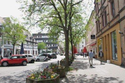Saarbrücken Sidewalk