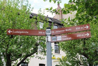 Saarbrücken Directional Signage