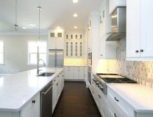 Light, White Kitchen Design