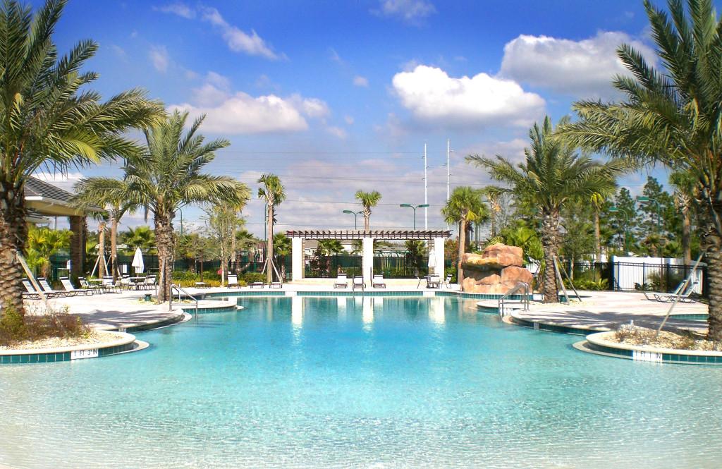 Zero Entry Pool - Avalon Park / Orlando, Florida