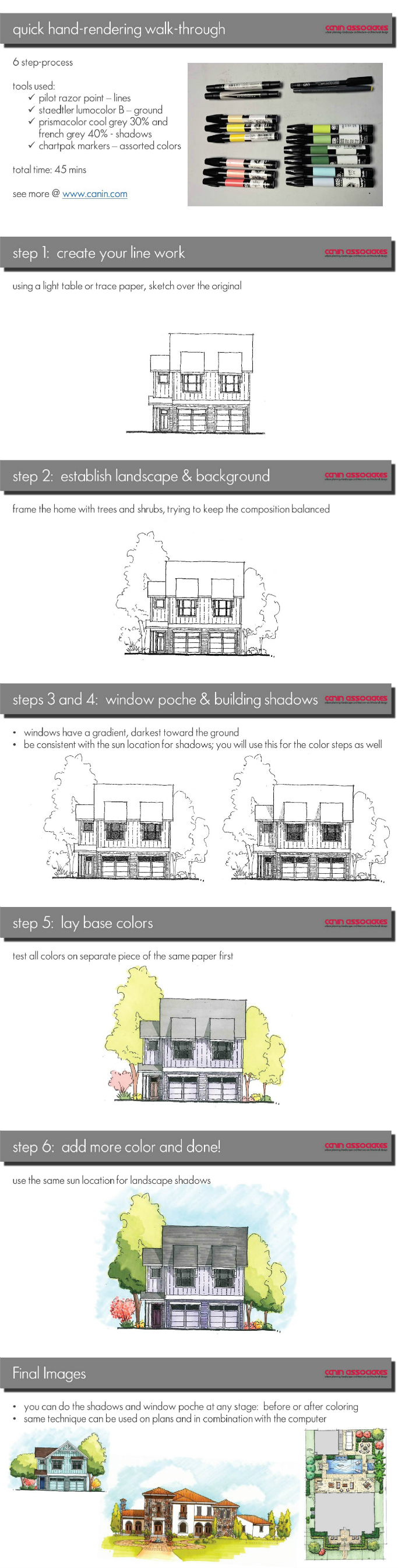 How_To_Color_Architectural_Elevation