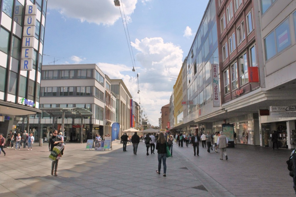 Bahnhofstraße, Saarbrücken, Germany