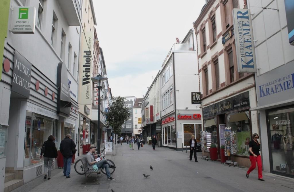 Woonerf, Saarbrücken, Germany